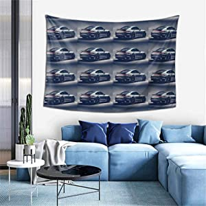 Jmire Porsche Tapestry Wall Hanging Tapestries for Living Room Bedroom Dorm Room Decor Blanket 60X40 inch