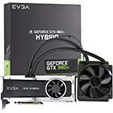 EVGA GeForce GTX 980 Ti 6GB HYBRID GAMING,All in One No Hassle Water Cooling, Just Plug and Play Graphics Card 06G-P4-1996-KR