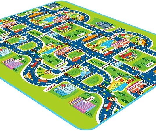 bébé les enfants de tapis jouer mat ville de tapis imperméables à l/'eau fr