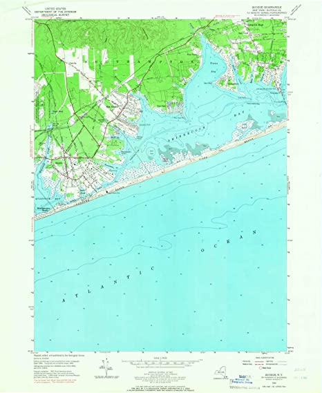 Map Of Quogue New York.Amazon Com Yellowmaps Quogue Ny Topo Map 1 24000 Scale