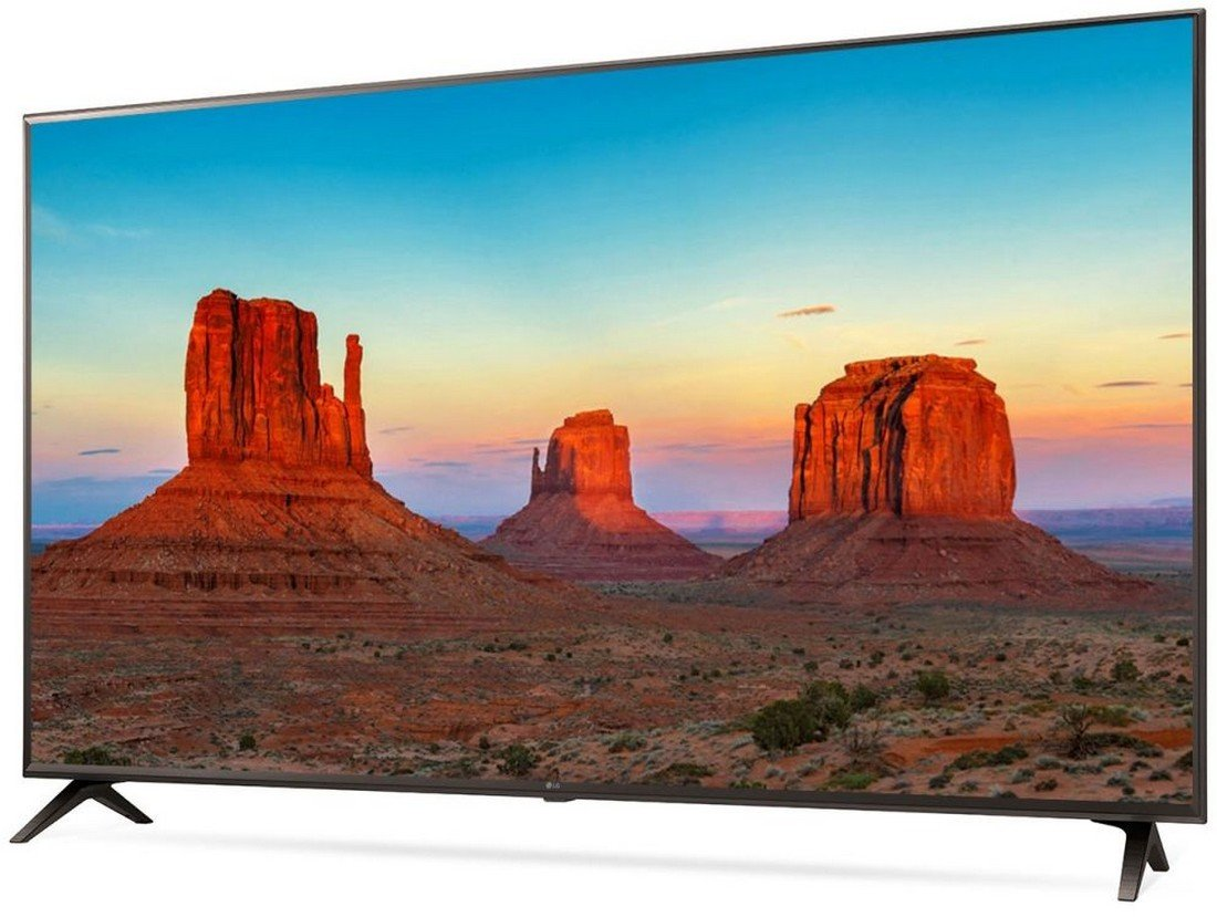 Best of the best 55 inch TV India - LG 139 cm (55 inches) 55UK6360PTE 4K LED Smart TV (Black)