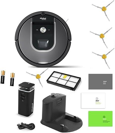 iRobot Roomba 960 Robot Aspirador Incluye 1 Modo Dual Pared ...