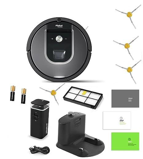 iRobot Roomba 960 Robot aspirador incluye 1 modo Dual pared Virtual Barrera (con pilas)