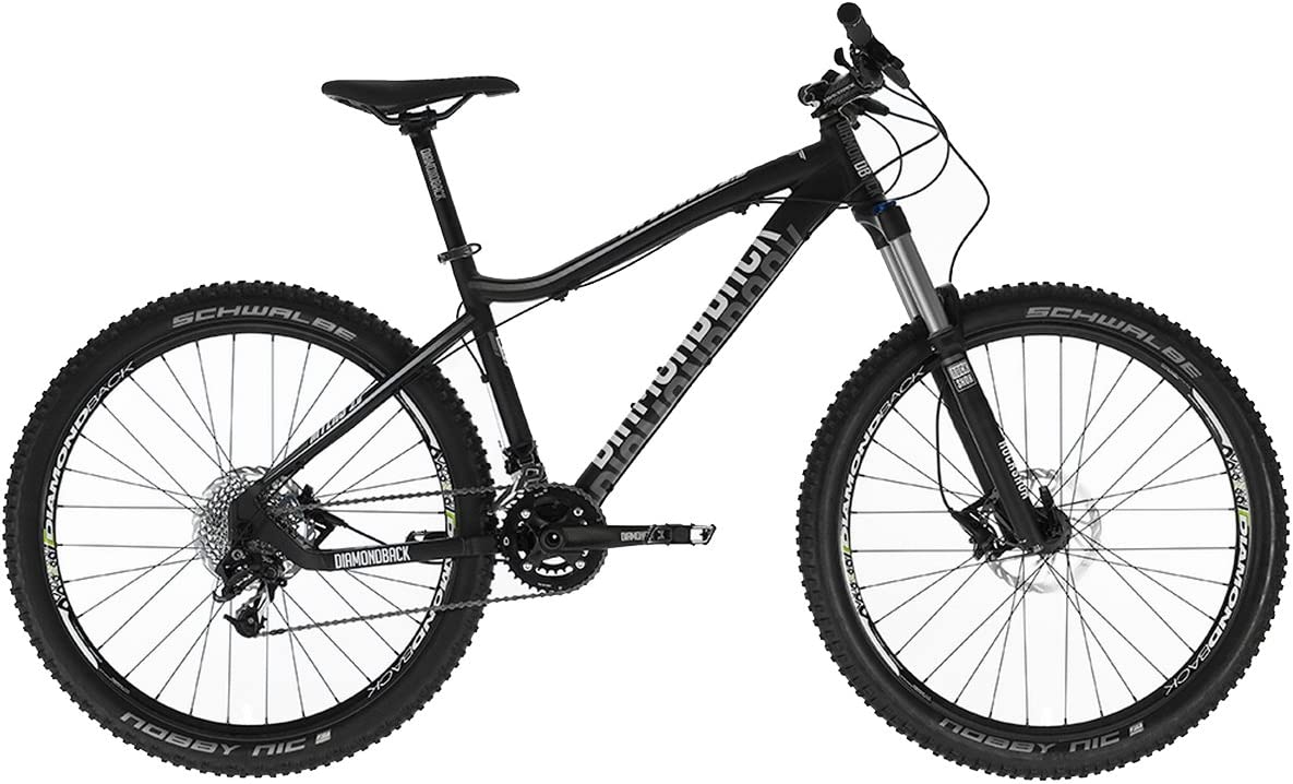 Diamondback Myers 2.0 - Bicicleta de Enduro, Color Negro/Blanco ...