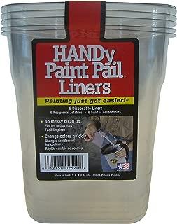product image for HANDY PAINT PAIL 2520CT 6PK Plastic Handy Paint Pail Liners 6 Count