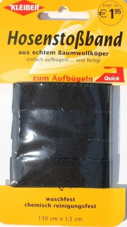 Hosenstossband dunkelgrau Kleiber 351-01