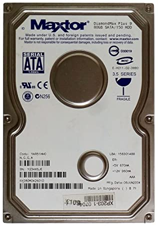MAXTOR 6Y080M0 SATA DRIVER DOWNLOAD (2019)