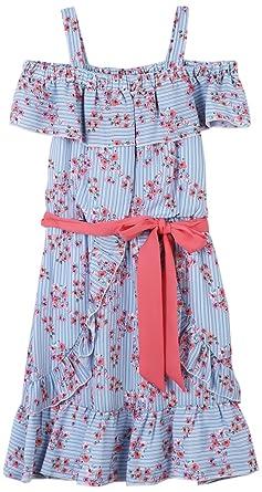 422e60a0812b Amazon.com  Speechless Girls  Big Shoulder Dress  Clothing
