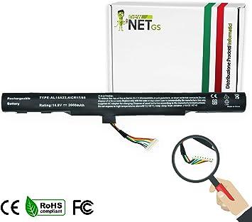 New Net - Batería de 2600 mAh Compatible con portátiles Acer ...