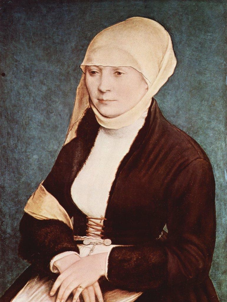 Lais Puzzle Hans Holbein d. J. - Porträt einer Frau Frau Frau 2000 Teile 38717d