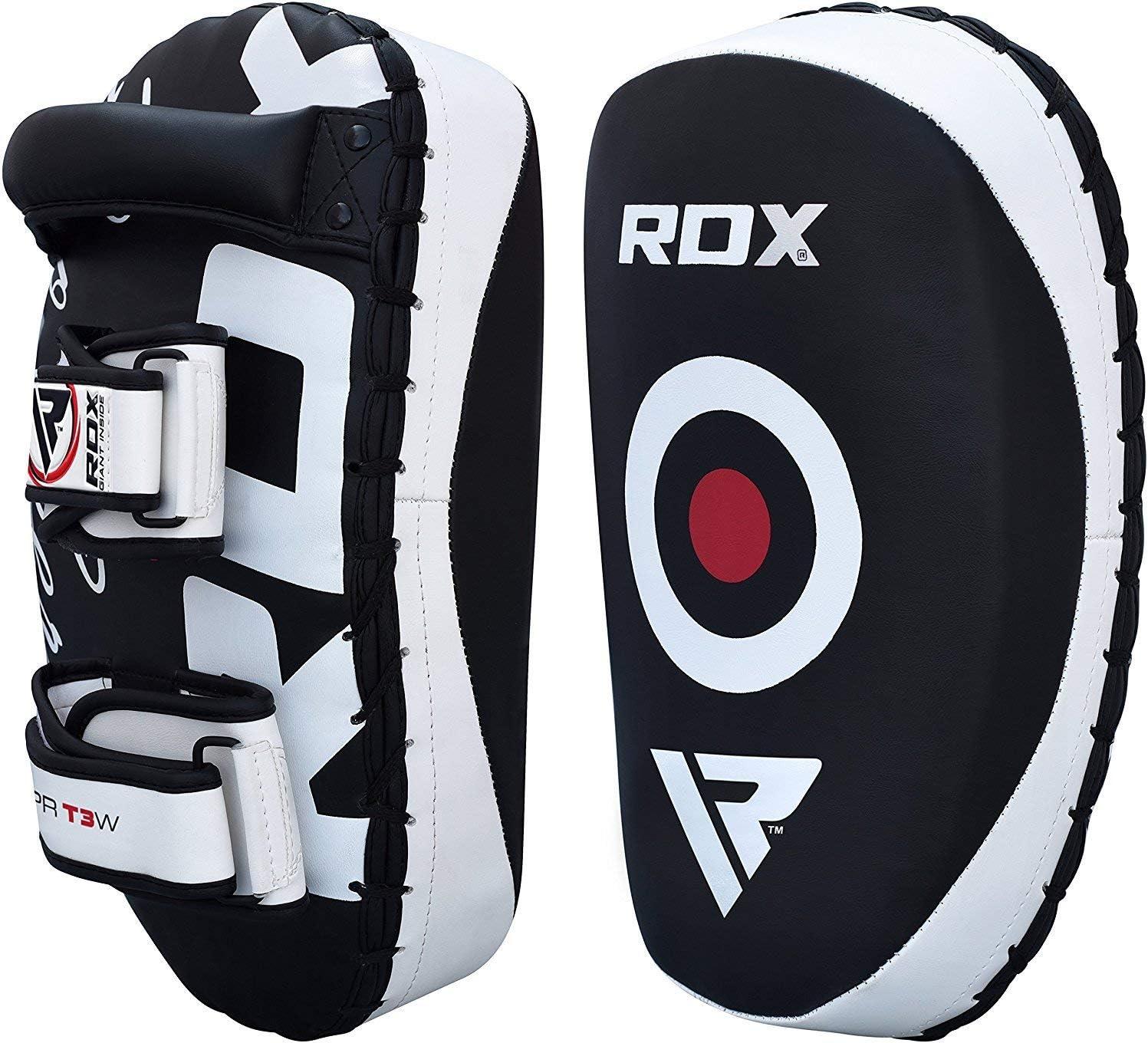 RDX MMA Huelga Escudo Par Kick Target Focus Bolsa Tailandeses Pad Boxeo Mitones de perforaci/ón Kickboxing