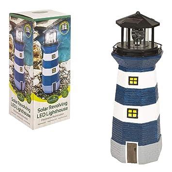 Benross Marketing Ltd - Lampe Phare Clignotant Solaire Ornement Décoration  Jardin c3fba190e3c