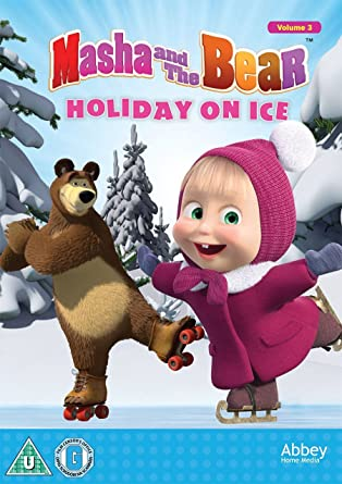 cdc590a06ba89 Masha and the Bear - Holiday On Ice [DVD]: Amazon.co.uk: DVD & Blu-ray