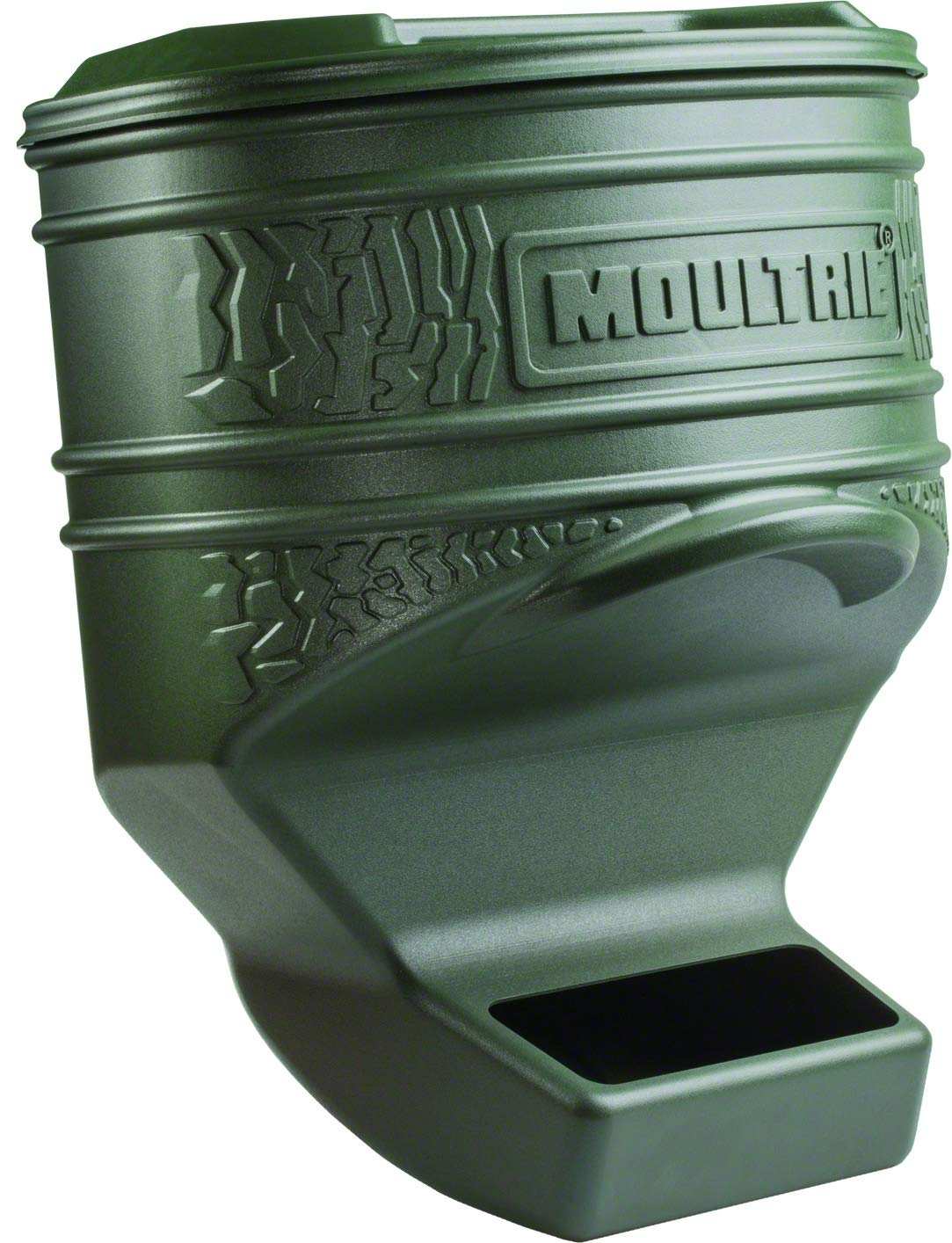 Moultrie Feed Station Pro | Gravity Feeder | UV-Resistant Plastic | 80 lb. Capacity | Weeping Holes | Straps Included by Moultrie