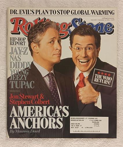 quality design 1e5dd 52815 Jon Stewart & Stephen Colbert - America's Anchors - Rolling ...