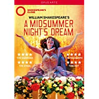 A Midsummer Nights Dream [Meow Meow; Zubin Varla; Ewan Wardrop; Lucy Thackeray; Ncuti Gatwa] [Opus Arte: OA1183D] [Reino Unido] [DVD]