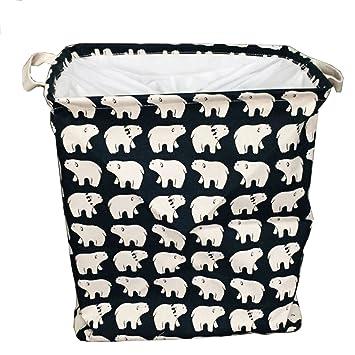 Plegable Infantil cestos para colada (Caja para guardar habitación de los Niños Ropa Cestas Cajas