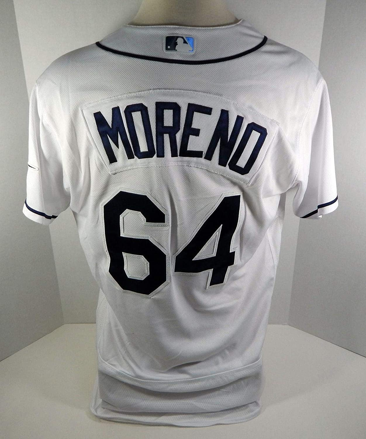Amazon.com: Tampa Bay Rays Diego Moreno #64 Game Issued ...