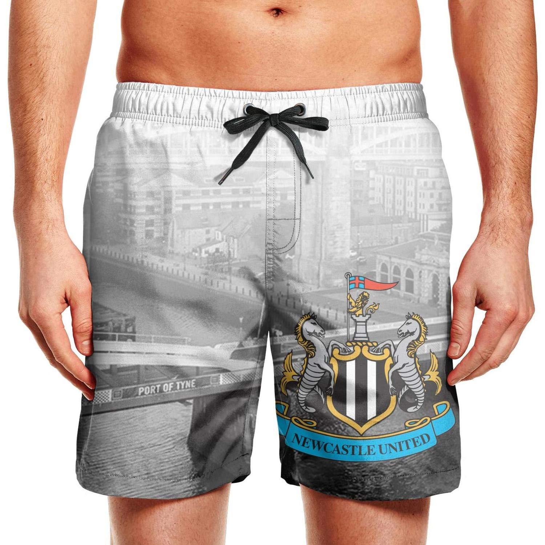Mens Swim Trunks Board Shorts Beach Wear Adjustable Running Shorts