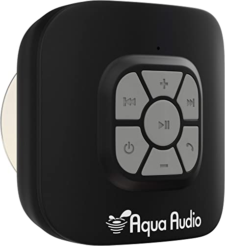 AquaAudio QZ-2Q0H-R3GO Cube Waterproof Bluetooth Wireless Speaker