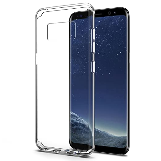 10 opinioni per Cover Galaxy S8, [2-PACK] SPARIN Samsung Galaxy S8 Custodia Morbida di TPU