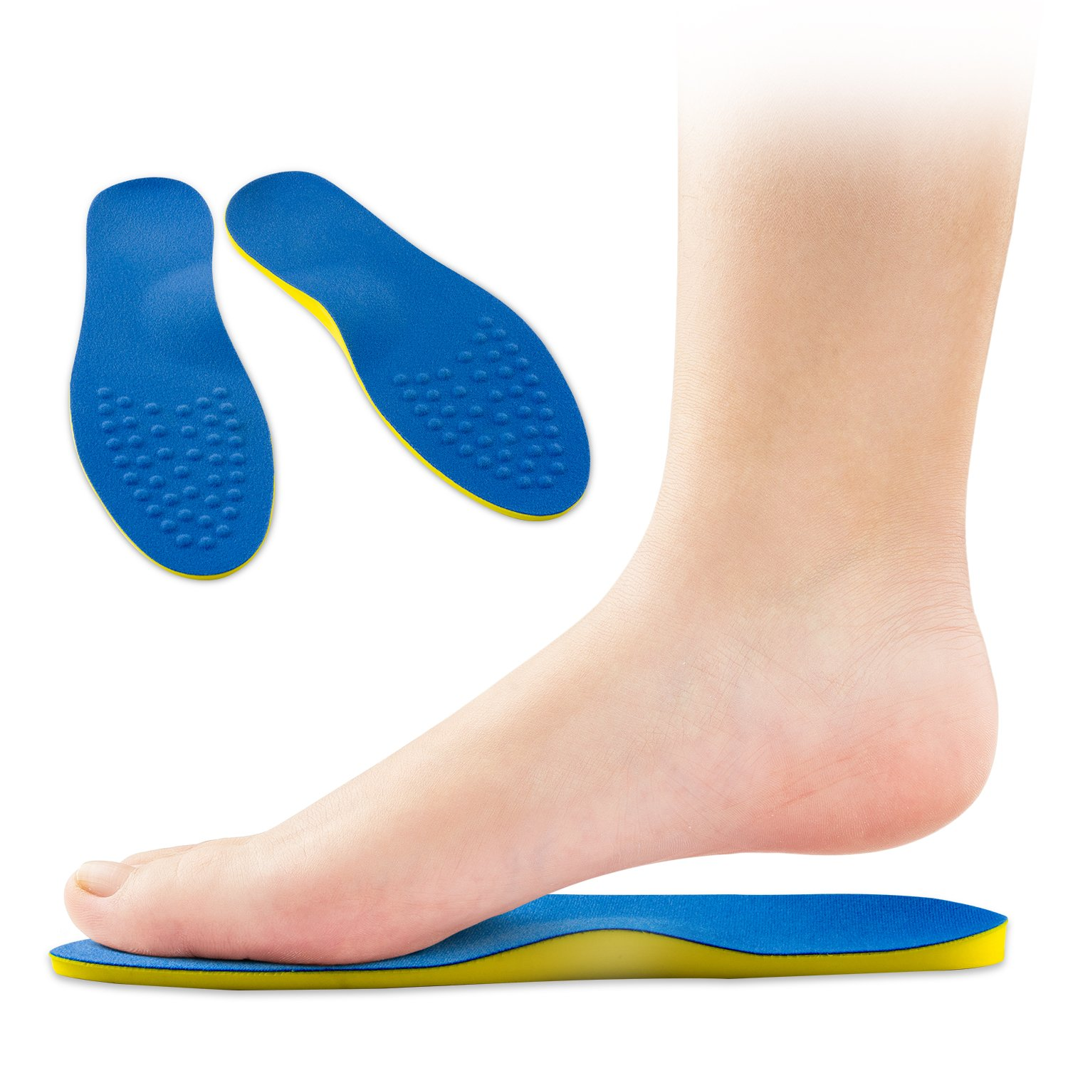 5add0a417f Amazon.com: OptiFeet XO Shape Leg Correction Orthotic Insoles Arch Support  Non-Slip Shoe Inserts for Flat Feet Men Women Kid: Health & Personal Care