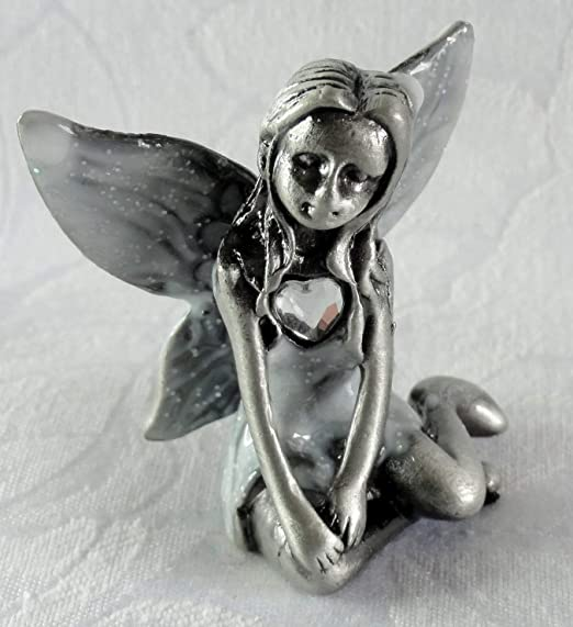 June Pewter Birthstone Fairy Viceni Birthday Collection