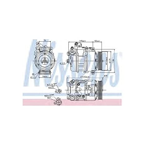 Nissens 89214 Sistemas de Aire Acondicionado