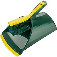 BÜMAG eG klauwen veegset 2-delige set van kunststof schep en klauwen handveger groen / geel