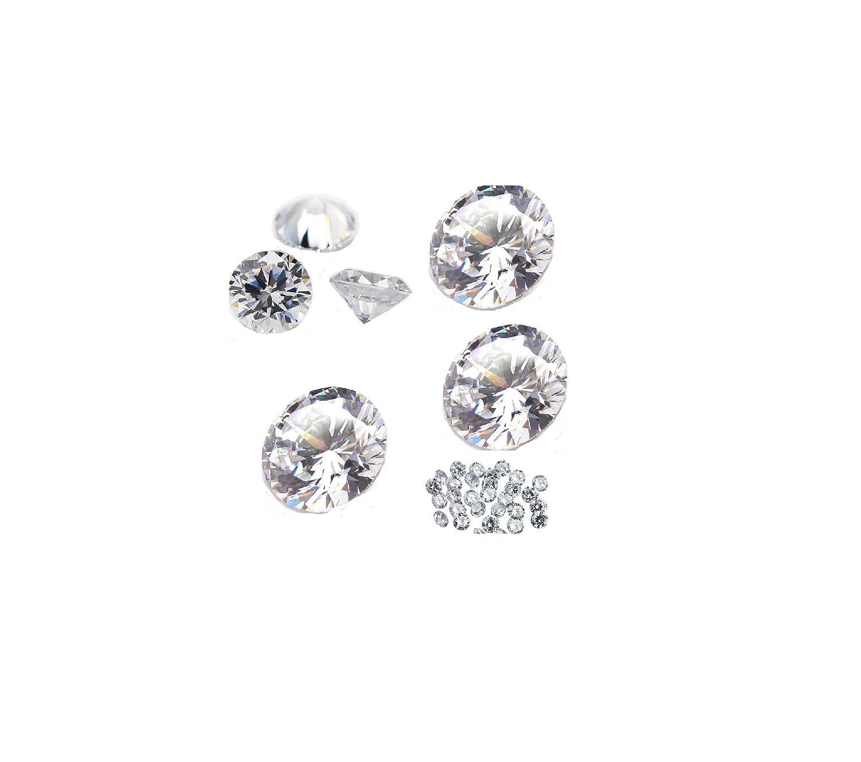Brand New 100 Cubic Zirconia Loose Stones 2mm 2.5mm AAAAA Quality
