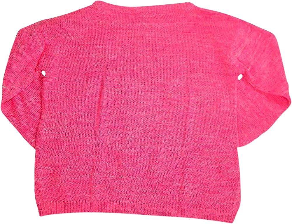 Etecredpow Big Girls Cute Knit Crewneck Casual Pullover Sweater
