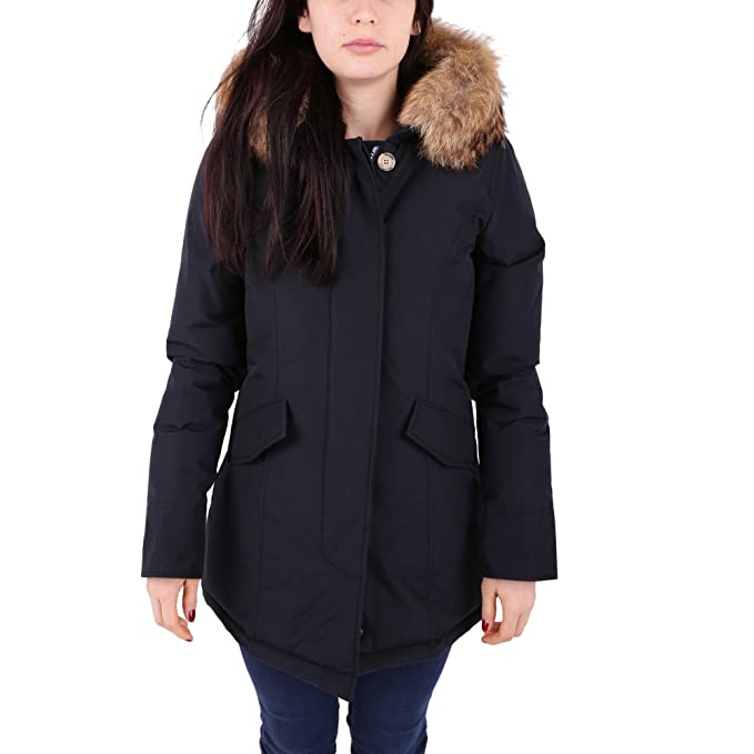 san francisco 66bfa 603ff 172M-WWCPS1446 DKN.W'S ARCTIC PARKA.DARK NAVY.S: Amazon.it ...