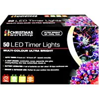 Christmas Workshop 50 LED Battery Operated