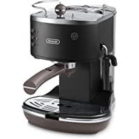 De'Longhi Icona Vintage ECOV311.BK Espresso Pump Coffee Machine  (Black)
