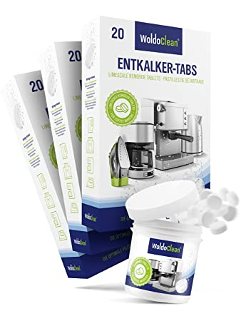 Reinigungs Tabletten Kaffeeautomat kompatibel mit Saeco Delonghi Jura Siemens