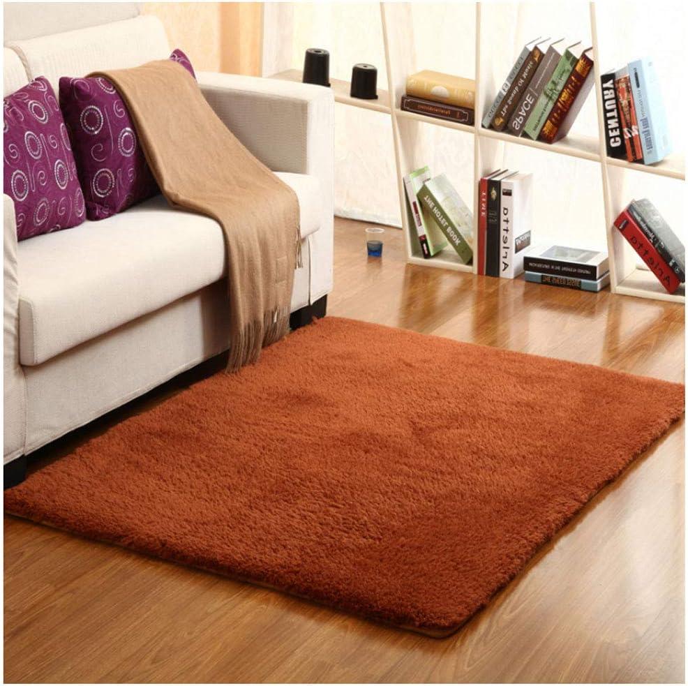 カシミヤポリエステル厚くする滑り止めカーペットリビングルームのコーヒーテーブルの寝室のカーペットフットパッドベッドサイドのカーペット窓のカーペット洗えるカーペット (Color : G, Size : 180x200cm)