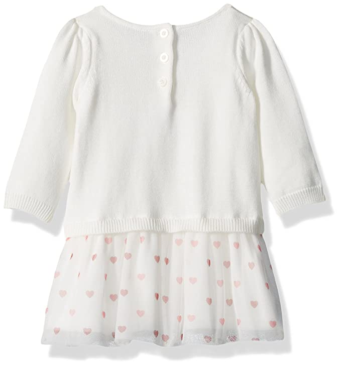 e8096bed9a5 Amazon.com  Gymboree Baby Boys  Heart Balloon Sweater Dress with Tulle