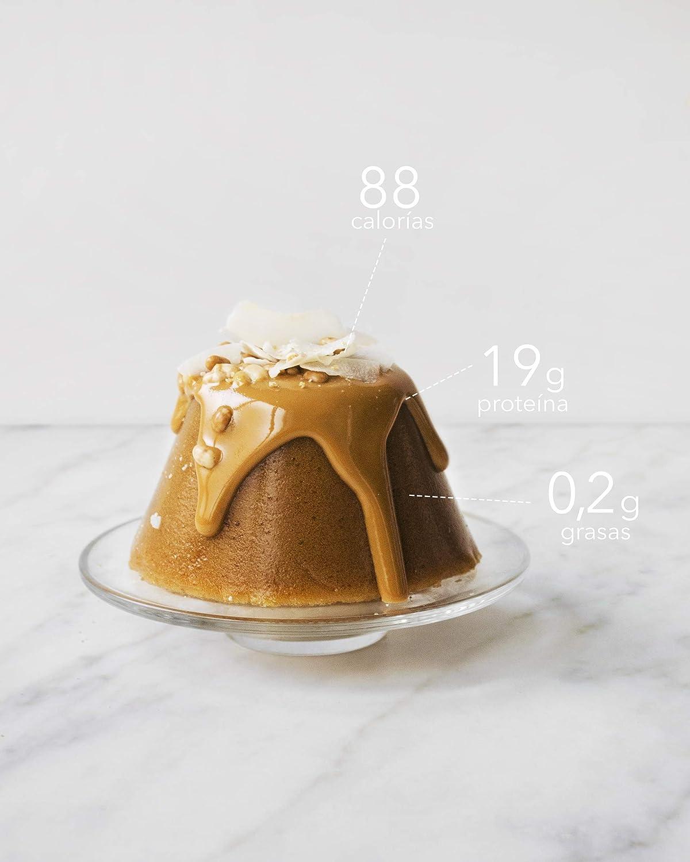 Body Genius PROTEIN FLAN (Coco). Preparado para flan protéico sabor Coco. Con Stevia y sin azúcares o polialcoholes añadidos. 275gr.