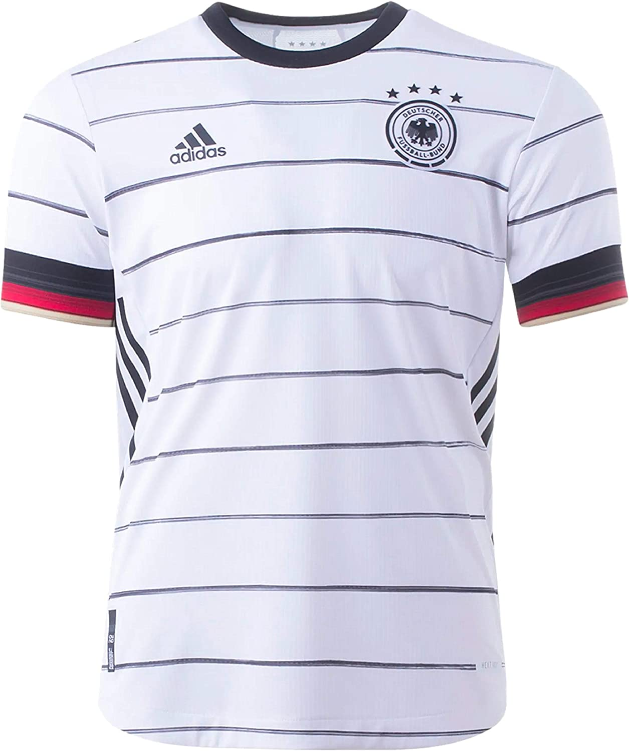 adidas Germany Authentic Home Mens Soccer Jersey