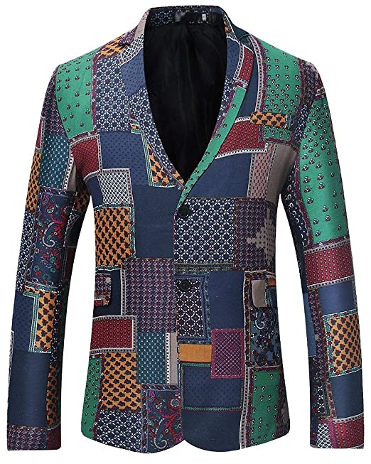 Laisla fashion Chaqueta Sudadera para Hombre Chaqueta Slim Fit Chaqueta Casual Chaqueta Clásico Casual para Hombre Chaqueta Estampada Estampada Chicos: ...