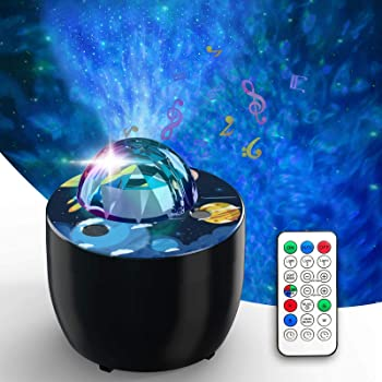Anwike Night Light Star Projector with Voice Control and Timer
