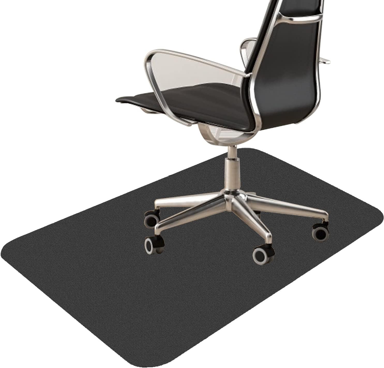 사무실 의자 매트 절단 가능한 다목적 하드 플로어 의자 매트 47X35(짙은 회색)
