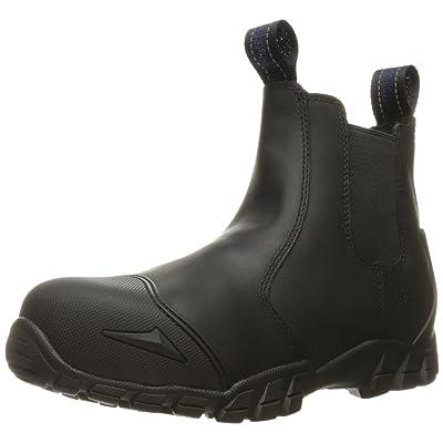 Bates Men's Strike Chelsea Comp Toe Slip-on Safety Toe Boot: Shoes