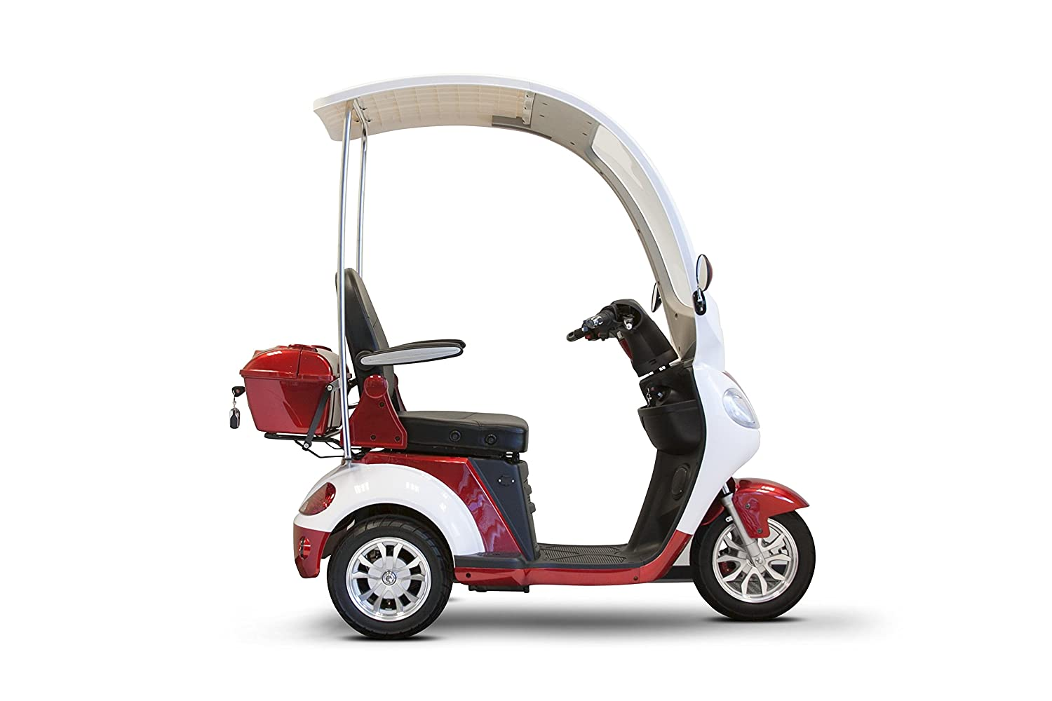 Amazon.com: E-Wheels - EW-44 Scooter - 3-Wheel - Red: Health ...