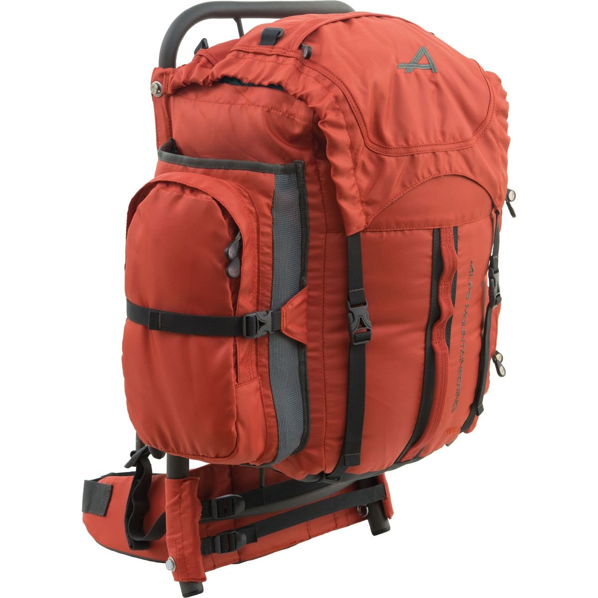 alps mountaineering red rock external frame backpack youth