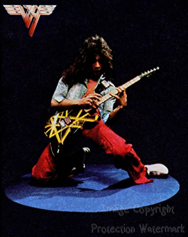 5f6825743be558 Eddie Van Halen Vintage Pose 8x10 Photo at Amazon s Entertainment ...