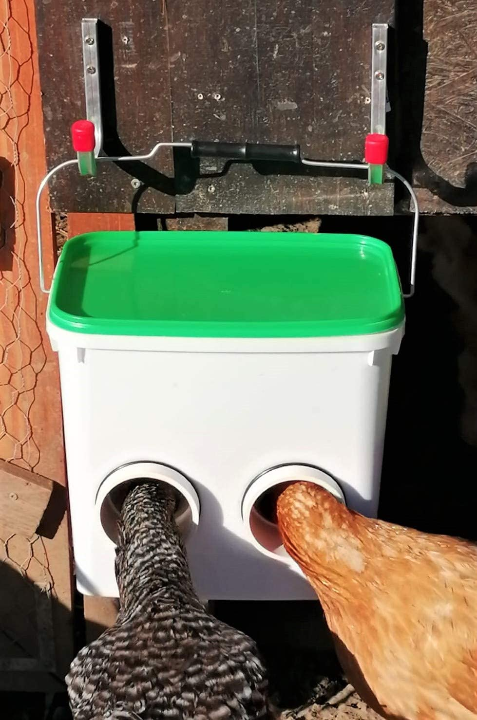 UpToDate Mangeoire Automatique de Poulet 7 kg avec Abreuvoir pour volaille 10l