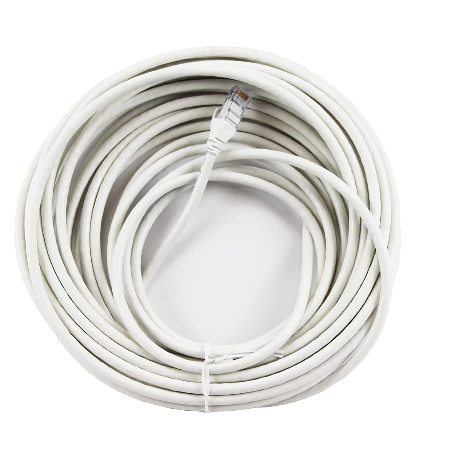 Belden Ax350528 35 White 4 Pair 23awg Cat6 Patch Cord Cat5e Ethernet Cable Snagless Plenum 2539 Black Computers Accessories
