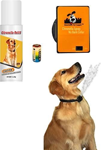 Downtown-Pet-Supply-NO-BARK-Collar-Citronella-Spray-Collar