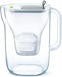 BRITA Style Jarra filtrante de plástico, Gris, 26,5 x 11 x 27,5 cm, plástico, Grafito, Sans offre spéciale